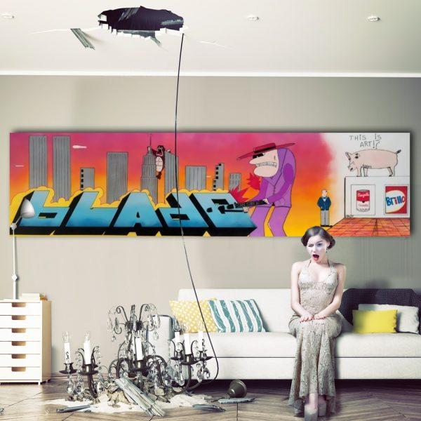 Blade - The Establishment 4, insitu