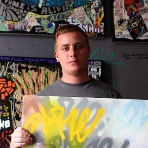 Artiste graffeur Dare
