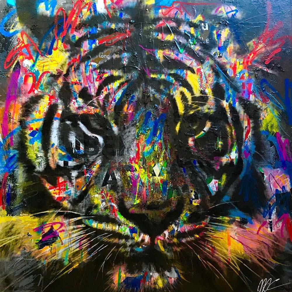 Tigre, œuvre de Maria de Campos