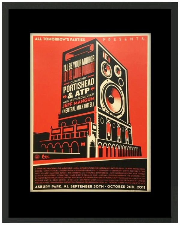 All tomorrow's parties une œuve de Shepard fairey