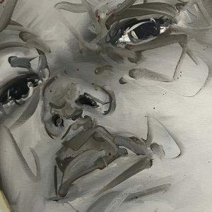 sans titre gris de Philippe Pasqua