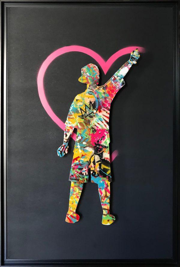 Oeuvre Spraying Love Aiiroh