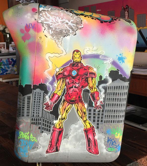 Boîte aux lettres Marvel Dok