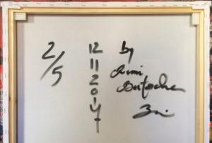 Signature Cassius Clay 2 sur 5