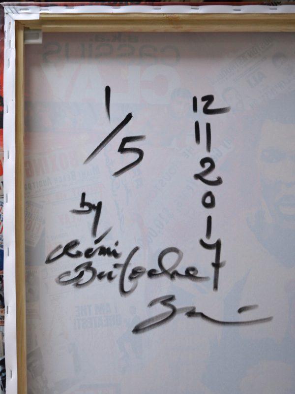Signature Cassius Clay Rémi Bertoche