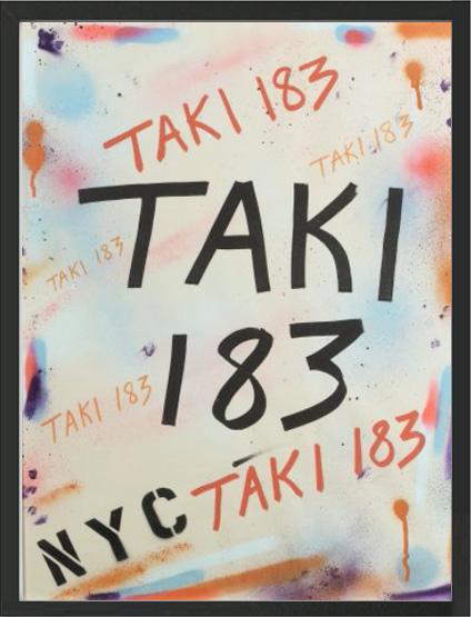 Oeuvre Taki 183